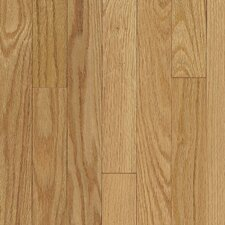 "Ascot Strip 2-1/4"" Solid Oak Flooring in Natural"