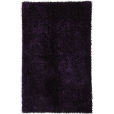 Flux Tulip Purple Shag Rug
