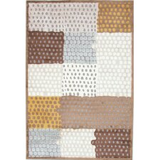 Fables Brown/Beige Geometric Rug