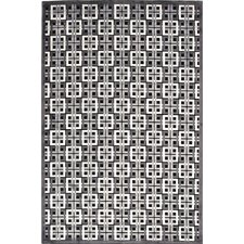 Fables Black/Gray Geometric Rug