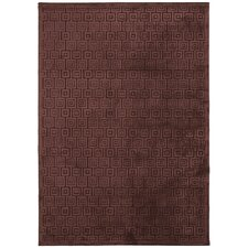 Fables Beige/Brown Geometric Rug