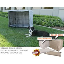 Midwest Life Stages 1-Door Dog Crate Cover and Pad Set