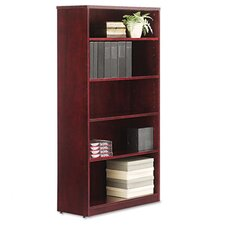 Verona Veneer Series Five-Shelve Bookcase