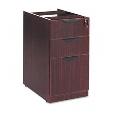 Valencia Series Two-Box and 1-File Drawer Full Pedestal