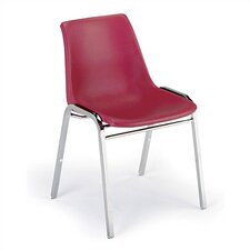 1060 Stack Chair with Chrome Frame
