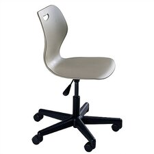 "Wave Series Adjustment Height 16.5"" - 21.5"" Steel Classroom Pedestal Chair"