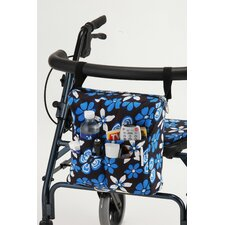 Hawaii Floral Walker Bag in Blue