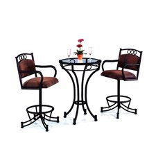 Winslow Wide Bar Height Pub Set