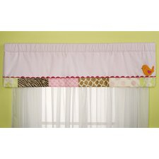Jungle Jill Rod Pocket Tailored Curtain Valance