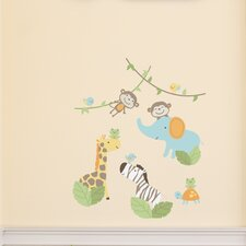 Jungle Play Wall Decal (Set of 4)