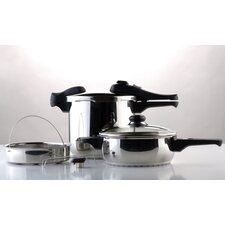 7 Piece Pressure Cooker Set