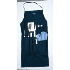 Orion 9-Piece BBQ Set with Apron
