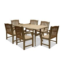 Renaissance 7 Piece Dining Set
