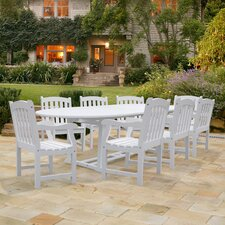 Bradley 9 Piece Dining Set