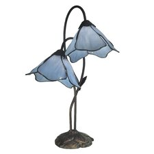 Poelking 2 Light Lily Table Lamp