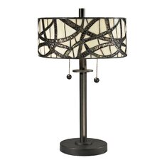 Willow Cottage 2 Light Table Lamp