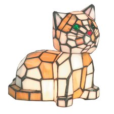 Tiger Cat 2 Light Accent Table Lamp