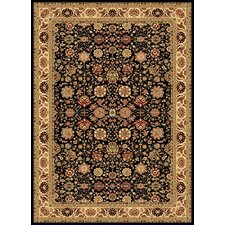 New Vision Black Tabriz Rug
