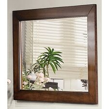 Palmetto Mirror in Pecan
