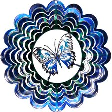 Eycatcher Kaleidoscope Butterfly Wind Spinner