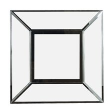 Cubic Wall Mirror in Black