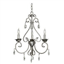 Antoinette 3  Light Chandelier