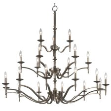 Hastings 21 Light Candle Chandelier