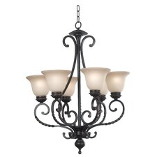 Oliver 6 Light Chandelier