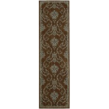 Radiant Impressions Brown Rug
