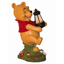 Disney Winnie-The-Pooh Holding Lighted Lantern Statue