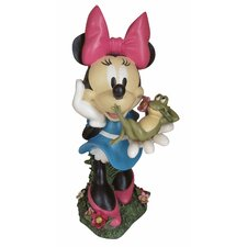 Disney Minnie Mouse with Frog Friend Statue