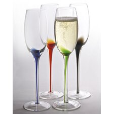 Splash Flute Glass (Set of 4)