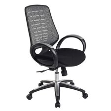 Viroque High-Back Mesh Office Chair with Adjustable Back Angle