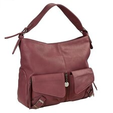 Buckle Large Hobo Handbag