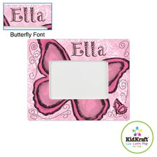 Personalized Butterfly Frame