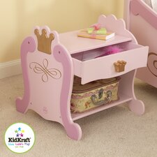 Princess 1 Drawer Nightstand