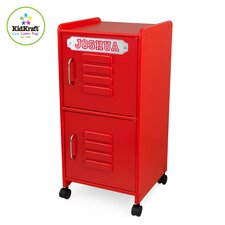 Personalized Medium Locker in Red
