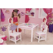 Fancy Nancy Table and 2 Chair Set