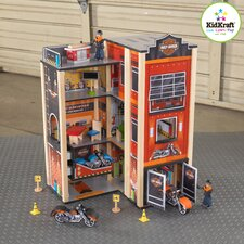 Harley-Davidson Garage Play Set