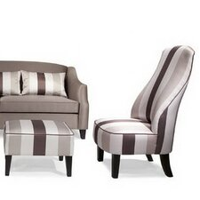 Garbo Chair and Ottoman