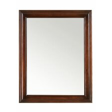 Traditional Style Wood framed mirror - 27inches x 35inches