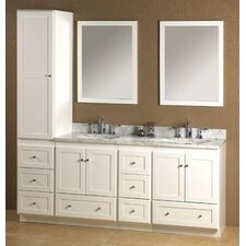 "Modular Shaker 60"" Bathroom Vanity Set"