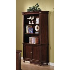 Keystone Bookcase in Tawny Brown