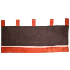 Cinnamon Spice Cotton Blend Window Valance