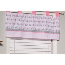 Sassy Safari Cotton Blend Window Valance