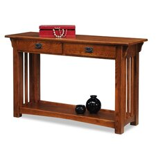 Mission Impeccable Console Table