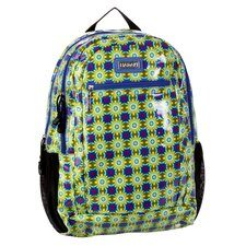 Cool Backpack Coated in Cobalt Stars