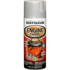 11 Oz Cast Coat Aluminum Engine Enamel Spray Paint 248953