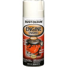12 Oz Universal White Engine Enamel Spray Paint 248954