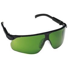Maxim™ Safety Eyewear - maxim black adjustable temple safety glasses mir